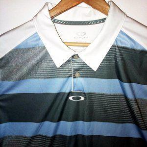 Oakley Hydrolix Polo Shirt Regular Fit Sz XL
